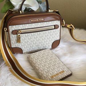 Michael Kors Crossbody Bag & passport case/wallet